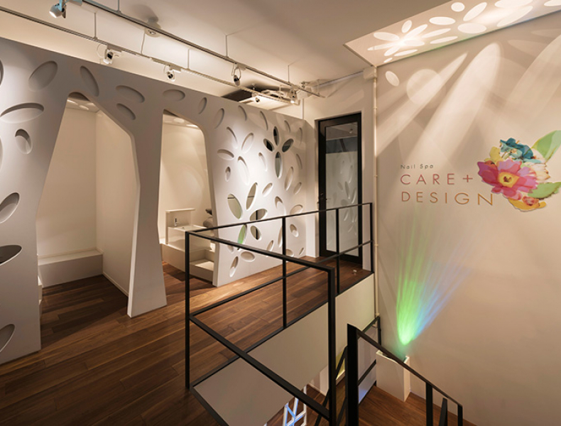 店舗デザイン実績|Nail Spa CARE+DESIGN 様 イメージ画像4