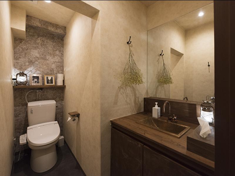 トイレにもこだわりを......イメージ画像
