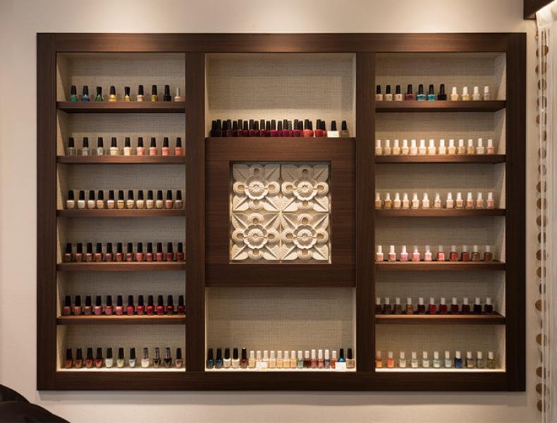 店舗デザイン実績|hearty nail自由が丘店 様 イメージ画像6
