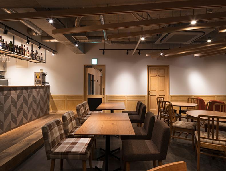 店舗デザイン実績|Café Lounge COLON 様 イメージ画像4