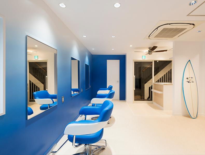 店舗デザイン実績|HAIR & MAKE Sky Resort 様 イメージ画像6