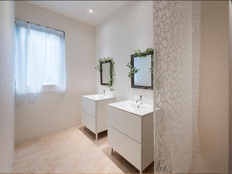 清潔感が漂う洗面室 ......イメージ画像