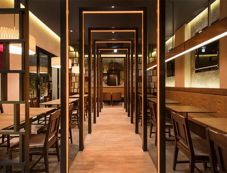 店舗デザイン実績|La VASARA -CAFÉ & GRILL- 浅草店 様 イメージ画像5