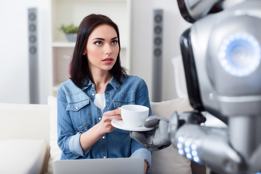 「ヒューマノイドロボット」を導入する店舗・企業が増加中!イメージ画像