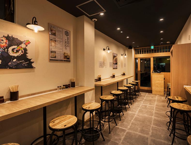 店舗デザイン実績|鶏白湯麺専門店 まるや 様 イメージ画像4