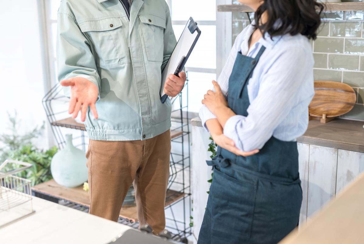 店舗の工事が必要になったら――工事費の内訳と金額は?イメージ画像