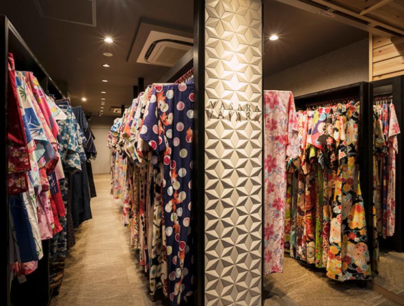 店舗デザイン実績|VASARA KIMONO RENTAL 京都本店 様 イメージ画像5