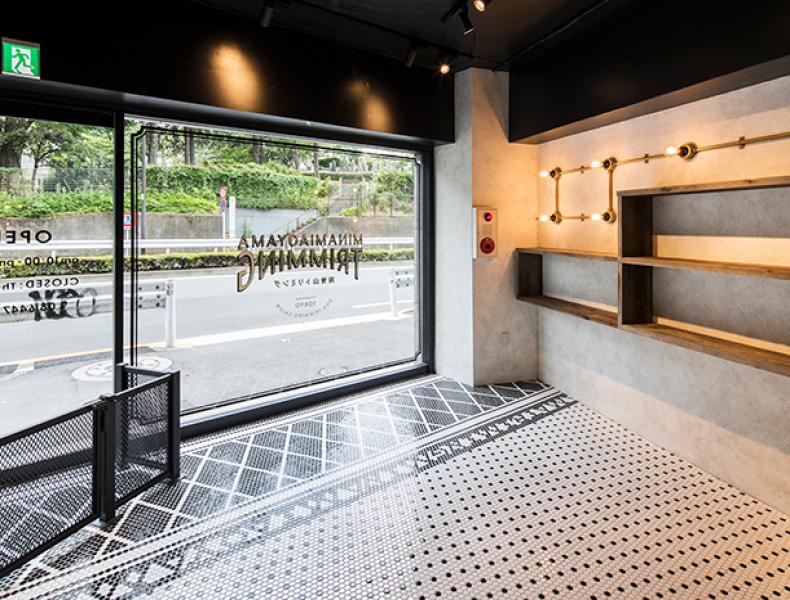 店舗デザイン実績|MINAMIAOYAMA TRIMMING 様 イメージ画像4