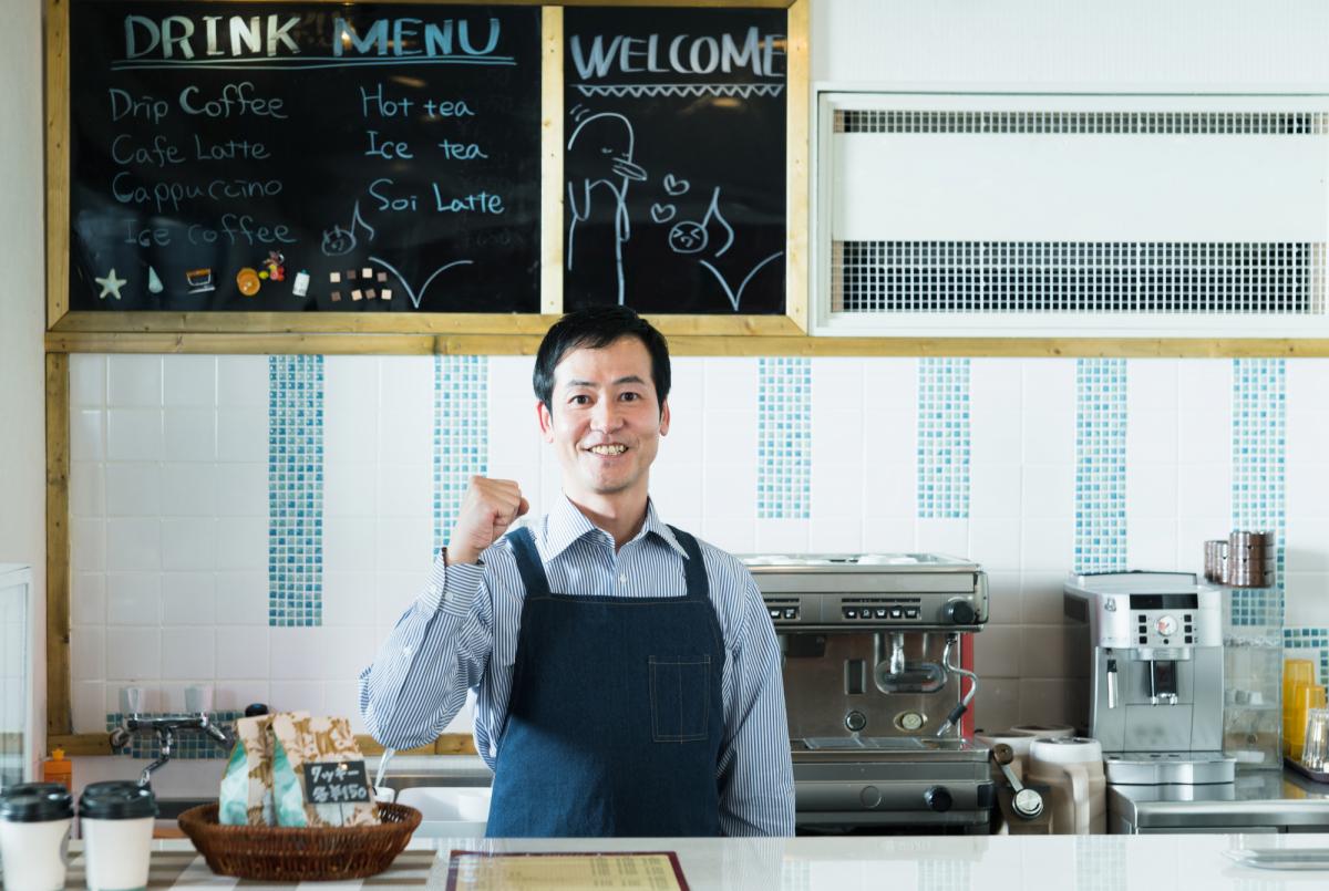 飲食店の開業時に使える助成金・補助金イメージ画像