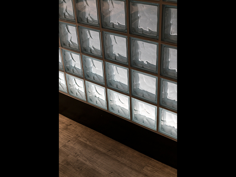 ガラスブロック+間接......イメージ画像