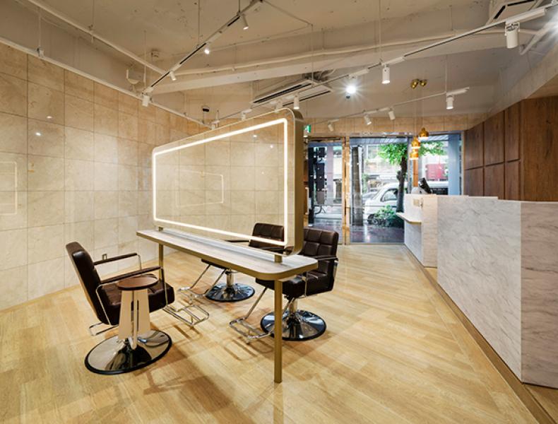 店舗デザイン実績|Hair Salon TAKAHIRO 様 イメージ画像4
