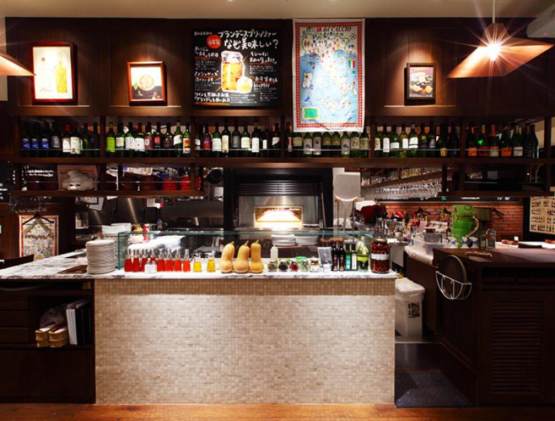 店舗デザイン実績|窯焼PIZZAとワインの店 BOSSO 様 イメージ画像4