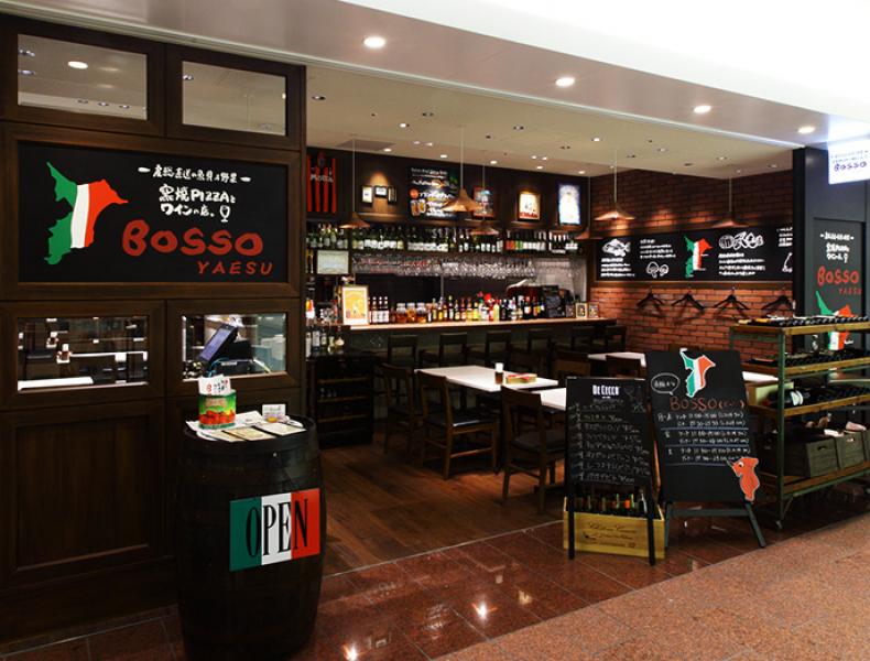 店舗デザイン実績|窯焼PIZZAとワインの店 BOSSO 様 イメージ画像5